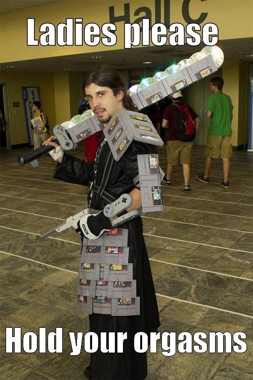 Armor and Sword made of Nintendo Games