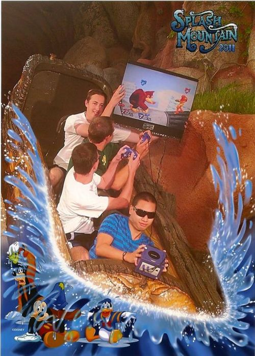 Splash Mountain Smash Bros